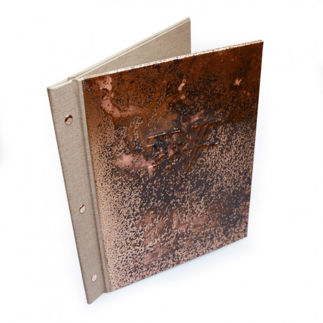 Metal Menu Books