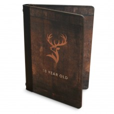 Wooden Menu Books
