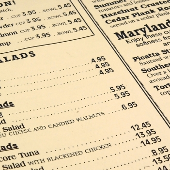 How to Price Your Menu